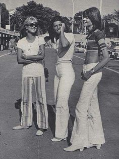 Bell bottom pants 1970. I was envied by my friends, my Mom sewed!