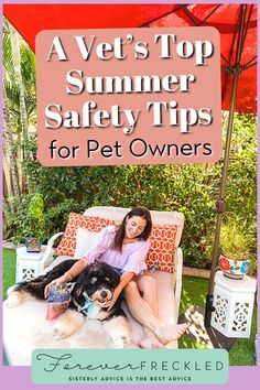 """Summer is really a great time to travel with your pets. I own a veterinary hospital in the heart of downtown Fort Lauderdale, Victoria Park Animal Hospital. We are a hub for travelers, tourists, and snowbirds. And I always see an influx of """"summer"""" emergencies that can be stressful for pet parents and pets alike. Summer Safety Tips, Emergency Hospital, Food Therapy, Pet Travel, Enjoy Summer, Pet Safe, Fort Lauderdale, Good Advice"""