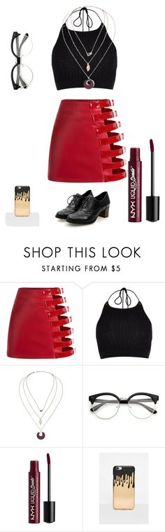 """Girls night out"" by fall-of-the-autumn on Polyvore featuring River Island, Charlotte Russe and Missguided"