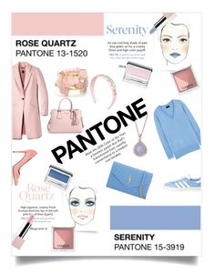 """""""Rose and Serenity"""" by kbruender ❤ liked on Polyvore featuring beauty, Sephora Collection, Clinique, Effy Jewelry, serenity, rosequartz, pantone and pantonebeauty"""