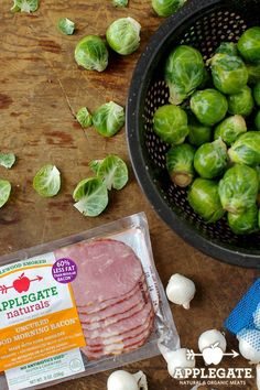 The best way to eat your veggies? By throwing a little Good Morning Bacon into the mix. Recipe here: http://applegate.com/recipes/braised-brussels-sprouts-with-bacon-and-pearl-onions