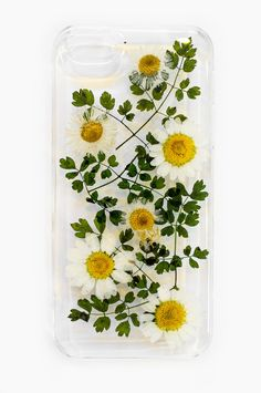 Pretty little flower phone cases.