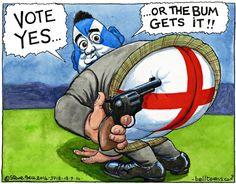 Steve Bell on Alex Salmond and the Scottish referendum – cartoon Alex Salmond, Scottish Referendum, Scottish Independence, Scotland, Cartoons, Baseball Cards, Cartoon, Animated Cartoons, Comic Books
