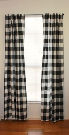 Buffalo Check Drapery Panels And Buffalo On Pinterest
