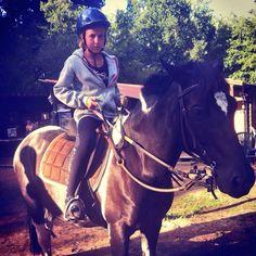 Moi à cheval :)