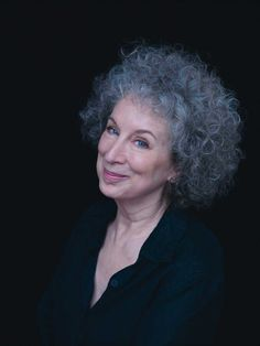 """Margaret Atwood - """"words carry so much power. Use them wisely.""""  She is just soooo cool!"""