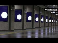 JR名古屋駅 シリーズ・アド・ビジョン名古屋 - YouTube