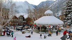 Leavenworth WA in Winter
