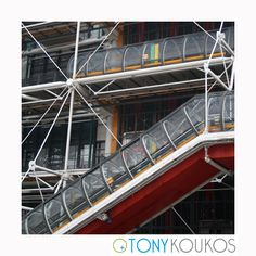 angles, architecture, exterior, functional, landmark, Paris, pipes, pompidou, postmodern, steel, tube, tunnels