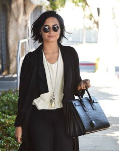 Demi Lovato Leaving the studio in West Hollywood - April 12th
