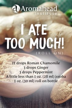 There are a lot of celebrations going on this weekend and before you know it, you've eaten too much of the delicious food!  Apply this roll on to your belly and lower back for digestion relief and a happy tummy! Gently massage, take a few deep breaths and relax!