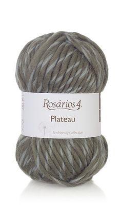 Yarn: Plateau. Composition: 100% Wool. Needles: 9 - 10 (USA 13 - 15) Weight: 100 g = 55 m | (3.5 oz = 60 yds)
