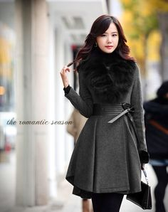 Winter is for romantic style. #fashion #winter #outfit