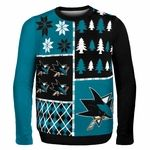 San Jose Sharks Ugly Christmas Sweater! Hahaaaaa