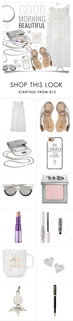 """Good Morning, Beautiful!"" by juliehooper ❤ liked on Polyvore featuring Boden, L*Space, Tevolio, Casetify, Linda Farrow, Urban Decay, Vivienne Westwood, Alexander Wang and Parker"