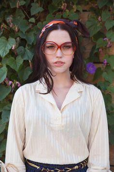 1970's vintage sheer white blouse SECRETARY blouse by ShopRVF