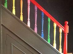 Rainbow bannister