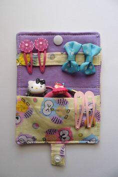Artist Bag, Cute Sewing Projects, Felt Mobile, Organiser, Felt Diy, Hair Clips, Ms, Quilting, Hair Accessories