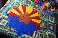 Ravelry: AFwifeCrochetNut's Arizona Flag in the Round