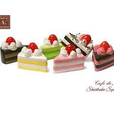 Cafe De N Shortcake Squishy