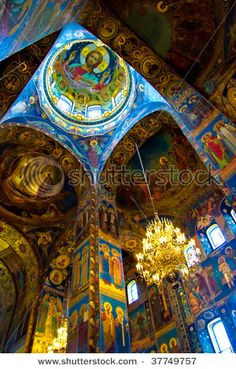 Cathedral of The Savior on Spilled Blood, St. Petersburg, Russia