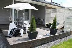 outside living - white, grey, black Outdoor Rooms, Outdoor Gardens, Outdoor Living, Outdoor Decor, Patio Pergola, Backyard, Pergola Kits, Outside Living, Terrace Garden