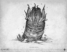 bestiaire Call of Cthulhu edition - Éditions Sans-détour - Chaosium Inc - 2014 Hp Lovecraft, Lovecraft Cthulhu, Cthulhu Game, Call Of Cthulhu Rpg, Creature Drawings, Animal Drawings, Aliens, Alien Aesthetic, Lovecraftian Horror
