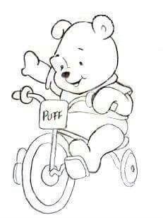 disegni da colorare e stampare gratis di winnie pooh