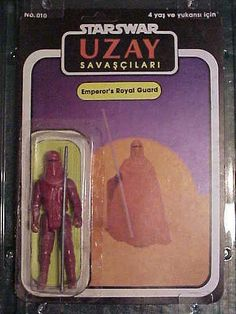 Awesomely Awful Turkish STAR WARS Action Figures