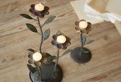 Growing Flower Candleholders, Asst. of 2 on OneKingsLane.com