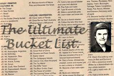John Goddard: A Life of Adventure - Creating The Ultimate Bucket List