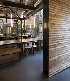 Captain Melville restaurant by Breathe Architecture, Melbourne   Australia restaurant