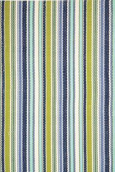 Dash & Albert Indoor/Outdoor RugPond Stripe - Coastal Rugs - Seasons Gifts and Home