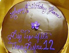 If the confluence of purple & brown icing wasn't bad enough...