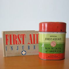 Boy Scouts First Aid Tin