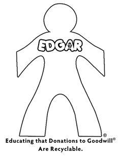 EDGAR Coloring Page