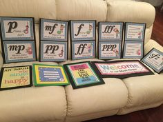 Dynamics posters ready for laminating! Music Lessons For Kids, Piano Lessons, Guitar Lessons, Singing Lessons, Guitar Tips, Music Bulletin Boards, Middle School Music, Music Worksheets, Music Classroom