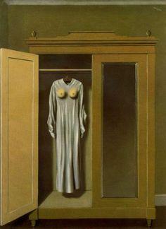 MAGRITTE - Homage to Mack Sennett, 1934