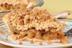 Šťavnatý jablkovo-hruškový koláč s mrveničkou