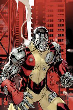 Uncanny X-Men Cover: Colossus by Roger Cruz Marvel Comics Poster - 61 x 91 cm Comic Book Artists, Comic Book Characters, Comic Artist, Marvel Characters, Comic Books Art, Marvel Comics, Marvel Heroes, Kitty Pryde, Gi Joe