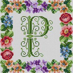 Victorian Alphabet Letter P
