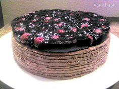 Čerešňovo-maková torta (fotorecept) - Recept