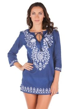 Ready-for-summer-tunic via Everything But Water