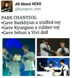 Exo Chanbaek, Kyungsoo, Exo Exo, Park Chanyeol, Exo Memes, Funny Memes, Exo Sign, Violin Music, Xiuchen