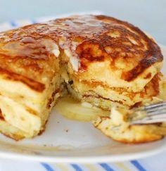 Lemon Buttermilk Pancakes