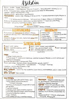 School Motivation, Study Motivation, Back To School, High School, Polish Language, Bullet Journal Mood, Study Notes, Knowledge, Math