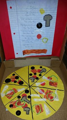 Pizza Fractions Project!