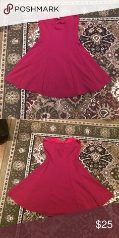 Brand new red dress New with tags. Red dress perfect for a night out! Manito Dresses Mini