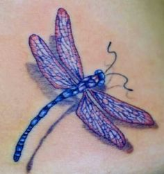 3d Dragonfly Tattoo Image