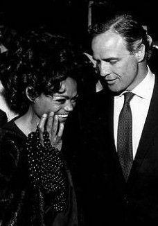 Eartha Kitt and Marlon Brando